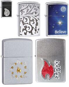 Zippo Genuine Windproof Refillable Cigarette Lighters USA Lifetime Guarantee