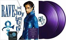 PRINCE LP x 2 Rave In2 The Joy Fantastic PURPLE Vinyl Double REMIX Album In 2