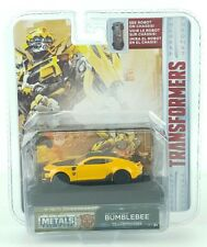 Transformers 1/64 Scale Bumblebee 2016 Chevy Camaro Diecast Car with Display