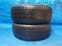 2 Stück Winterreifen Reifen Firestone Winterhawk 2 EVO 205 55 R16 91T **5,5mm**