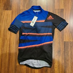NWT Adidas Adistar Cycling Ciclismo Form Fitting Jersey FJ6572 Men's Size Med