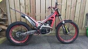 Sherco 300 factory trails bike