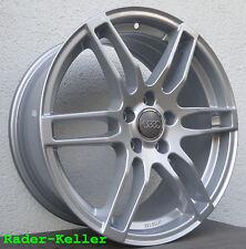 4x Neue S-Line 18 Zoll Alufelgen Audi A3 A4 A6 Q2 Q3 Mercedes Seat Skoda VW Golf