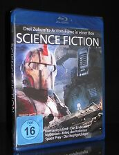 BLU-RAY SCIENCE FICTION EDITION - 3 FILME HUMANITY'S END + NYDENION + SPACE PREY