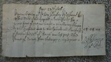 1656 ST MARGARETS HOSPITAL WESTMINSTER. GREEN COAT SCHOOL RECEIPT  ORIGINAL ITEM