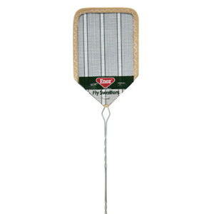 """2pk NEW Enoz Wire Mesh Fly Swatter 4.25"""" Blade R38"""