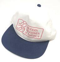 Youngan Rare Snapback Hat Cap Mens Retro Modern Woodmen of America 80s 70s