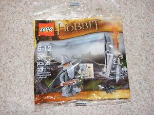 New LEGO 30213 Gandalf At Dol Guldur Polybag Minifigure Hobbit Lord Of The Rings