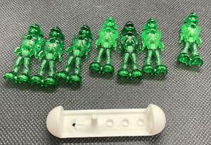 LEGO Mars Mission Alien Green Translucent Minifigure w// Hyper-Sled