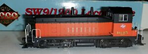 HO scale Proto 2000 - SW9/1200 Milwaukee Road  #1645 -  21163  DCC installed