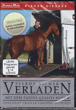 NEW SEALED DVD CONFIDENT TRAILER LOADING Natural Horsemanship