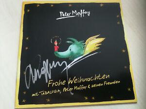 PETER MAFFAY - CD - BOOKLETT - FROHE WEIHNACHTEN mit TABALUGA & ORIG. AUTOGRAMM