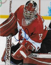 Auto. Charline Labonte Team Canada 2014 Sochi Olympics Womens Hockey 8x10 Ph #2