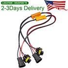 US Location LED Headlight Canbus Load Resistor Decoder Error Free Anti Flicker