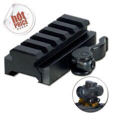 UTG 5-Slot Universal Quick Detach Lever Lock Adapter Riser Fits Picatinny Rail