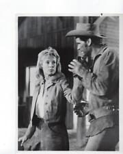 "James Garner Bibi Anderson ""Duel At Diablo"" Vintage TV Still"