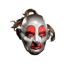 Mens Adult Dark Knight Clown Batman Joker Bank Robbery Dopey 3/4 Costume Mask