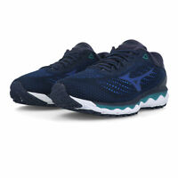 Mizuno Mens Wave Sky 3 Running Shoes Trainers Sneakers - Navy Blue Sports