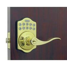 Door Lock Keyed Entry Electronic Keypad Drilling Template Universal Zinc Brass
