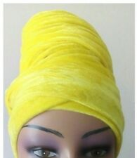 Winter scarfs Ladies Velvet Stretch Turban wrap 2 Long tail cap hair loss/ Chemo