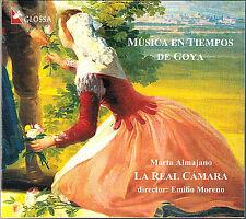 MUSICA EN TIEMPOS DE GOYA Castell Esteve Laserna EMILIO MORENO CD Glossa