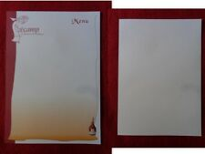 MENU FECAMP  MILLENAIRE DE L'ABBAYE  1001-2001   BENEDICTINE