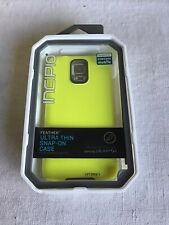Brand New Incipio Feather Ultra Thin Snap On Case Yellow Samsung Galaxy S5