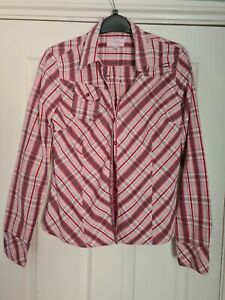 O'NEILL Floaty Checked Shirt / Blouse / Top - Size XL 14/16
