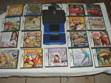 Nintendo DS Game Console w/11 Games & Carrying Case