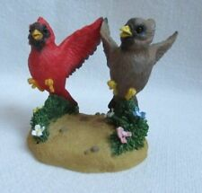 Fitz & Floyd Cardinal Bird Figurine Nothing Can Dampen Our Love #89/209