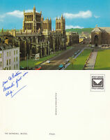 1970's THE CATHEDRAL BRISTOL SOMERSET UNUSED COLOUR POSTCARD