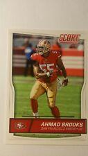 NFL Trading Card Ahmad Brooks San Francisco 49ers Score 2016 Panini