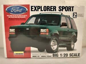 Lindberg Ford Explorer Sport SUV 1:25 Model Kit # 72511