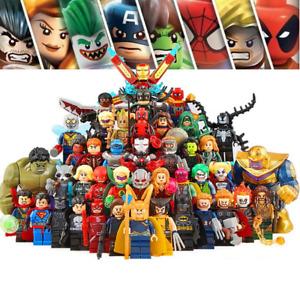 100+ LEGO Avenger The End Game Infinity War Marvel DC Super Heroes Minifigures