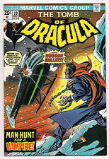 Bronze Age TOMB OF DRACULA #20 1974 NM