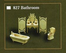 BATHROOM FURNITURE KIT IN 12th SCALE FOR DOLLS HOUSE, BRAND NEW