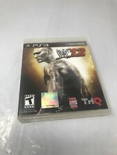WWE'12 (Sony PlayStation 3, 2011) PS3