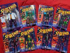 Spider-Man Marvel Legends Retro Lot NEW Green Goblin Kingpin Daredevil Mary Jane