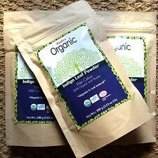 Radico Organic Indigo Leaf Powder reines Bio-Pulver 100g vegan Naturkosmetik