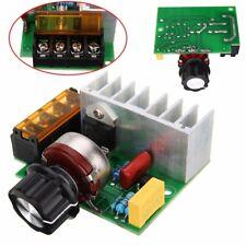 4000W Watt AC 220V SCR Voltage Adjustable Regulator Motor Speed Control Dimmer