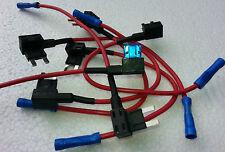 ADD-A-CIRCUIT- FUSE -TAP- ADAPTER (MINI-BLADE) FUSE HOLDER (X1) 1x15A FUSE (X1)