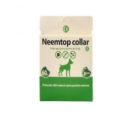 Collier 60cm pour chiens +30kg NEEMTOP répulsif naturel tout ce que type