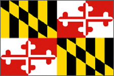 Rumbling Pride Maryland Flag 6X9 Made In Usa