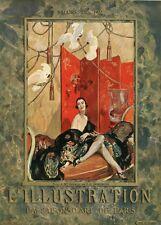 """""""Jean-Gabriel DOMERGUE : Mlle SPINELLY"""" Couverture originale entoilée 1922"""