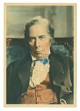 George Arliss - English Actor, Author - Vintage Tobacco Promotional Postcard