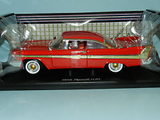 Motor Max 1/18 1958 Plymouth Fury Red MIB