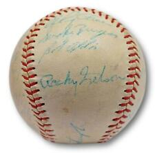 Roberto Clemente signed 1960 WSC Pittsburgh Pirates ONL Baseball W/ Case JSA