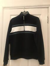 New Marks Spencer Men's Small Jogging Top Navy RRP £35 With Tags Very Nice Top