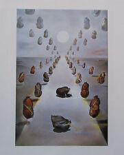 Salvador Dali DER RÄTSELHAFTE WEG Kunstdruck print Surrealismus