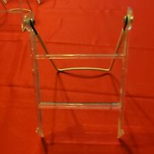 Lot of 10 Clear Acrylic Earrings Jewelry Display Rack Stands - 6 & 4.5 Inch Ht